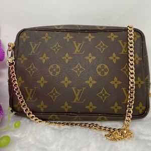 Authentic Preowned LV Monorgam Trousse 23